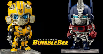 Bonecos Nendoroid Tranformers: Bumblebee e Optimus Prime