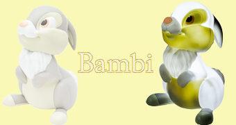 Luminária Coelho Tambor do Filme Bambi da Disney