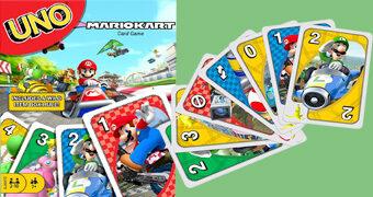 Jogo de Cartas UNO Mario Kart