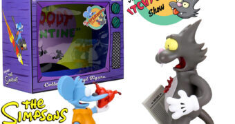 Os Simpsons Kidrobot: The Itchy & Scratchy Show