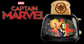 Torradeira Capitã Marvel