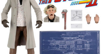 De Volta para o Futuro Action Figure Neca Ultimate: Doutor Emmett Brown