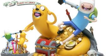 10 Anos de Hora de Aventura (Adventure Time) Estátua Mondo