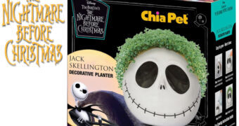 Jack Skellington Chia Pet com Cabeleira de Grama (The Nightmare Before Christmas)