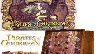 Jogo Batalha Naval Piratas do Caribe dos Parques Disney