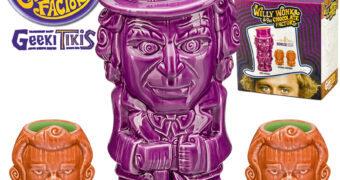 Canecas Willy Wonka e Oompa Loompas Geeki Tikis (A Fantástica Fábrica de Chocolate 1971)