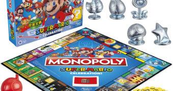 Jogo Monopoly Super Mario Celebration 35 Anos
