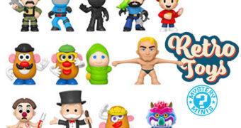 Mini-Figuras Hasbro Brinquedos Clássicos Mystery Minis