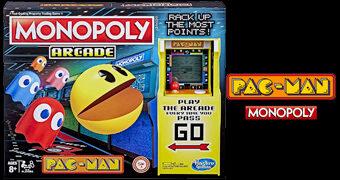 Jogo Monopoly Pac-Man Arcade