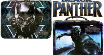 Lancheiras de Lata Pantera Negra