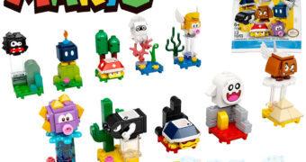"LEGO Super Mario ""Character Packs"" com 10 Inimigos para Construir e Brincar (Blind-Box)"