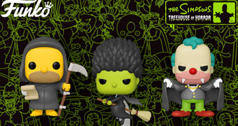 Bonecos Pop! The Simpsons Treehouse of Horror