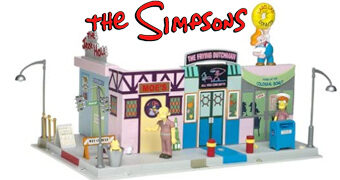 Os Simpsons Playset Springfield Main Street