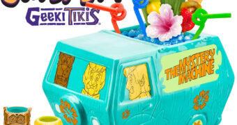 Set de Canecas Geeki Tikis Scooby-Doo, Salsicha e a Máquina Mistério