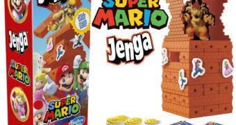 Jogo JENGA Super Mario Bros. 35 Anos