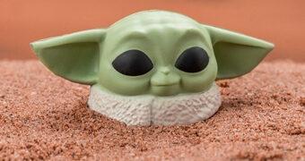 Brinquedo Anti-Stress Baby Yoda (Star Wars: The Mandalorian)