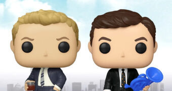 Bonecos Pop! da Série How I Met Your Mother: Ted Mosby e Barney Stinson
