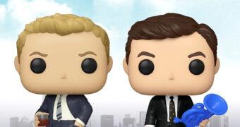 Bonecos Pop! da Série How I Met Your Mother: Ted Mosby e Barney Stinson