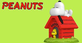 Snoopy e Woodstock na Casinha de Cachorro Pop! Deluxe