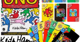 Jogo de Cartas UNO Artiste Series: Keith Haring