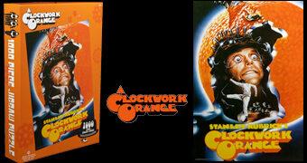 Quebra-Cabeça Pôster Laranja Mecânica de Stanley Kubrick com 1.000 Peças
