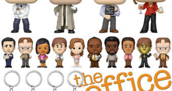The Office Funko com Bonecos Pop!, Mini-Figuras Mystery Minis e Chaveiros Pocket Pop!