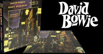 7 Quebra-Cabeças David Bowie Album Covers com Capas de Álbuns dos Anos 70 e 80