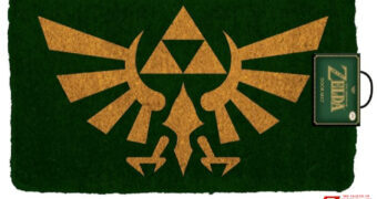 Capacho Legend of Zelda com o Símbolo de Hyrule