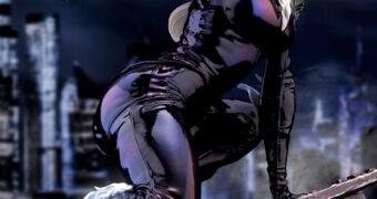 "Gata Negra (Black Cat) ArtFX Premier – Estátua Kotobukiya Elite 1:10 ""The Women of Marvel"""