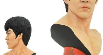 Busto Bruce Lee Legends in 3D em Escala 1:2