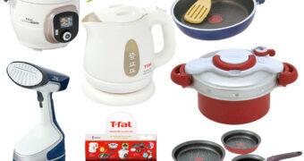 Miniaturas de Panelas e Utensílios de Cozinha da T-fal (Blind-Box)