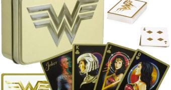 Baralho Mulher Maravilha do Filme Wonder Woman 1984