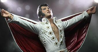 """Elvis Presley Ao Vivo em 1972 – Figura Neca em Escala 7"""" Polegadas"""