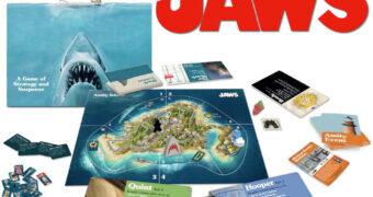 Jogo de Estratégia e Suspense do Filme Tubarão (Jaws)