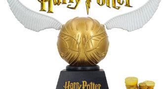 Cofre de Moedas Pomo de Ouro (Golden Snitch) Harry Potter