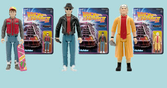 "Back to the Future II ReAction – Action Figures Retro 3.75"" De Volta para o Futuro 2"