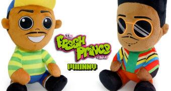 The Fresh Prince of Bel-Air PHUNNY – Bonecos de Pelúcia 30 Anos da Série Um Maluco no Pedaço de Will Smith