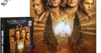 Quebra-Cabeça da Série Supernatural com o Pôster da Temporada Final
