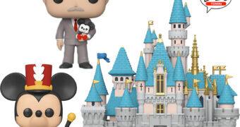 Disneylândia 65 Anos: Castelo da Cinderella Pop! Town com Mickey Pop! ou Walt Disney Pop!