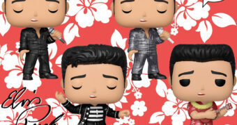 Bonecos Pop! Elvis Presley: '68 Comeback Special, Jailhouse Rock e Blue Hawaii