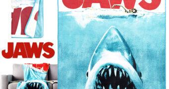 Cobertor de Lance Pôster do Filme Tubarão (Jaws)