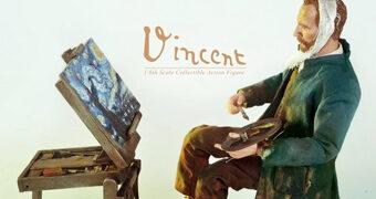 Action Figure Vincent van Gogh Great Master Series em Escala 1:6