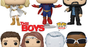 Bonecos Pop! da Série The Boys do Amazon Prime
