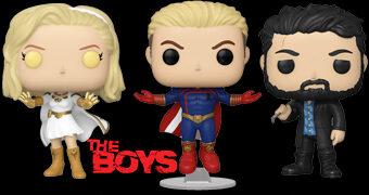 Bonecos Pop! da Série The Boys do Amazon Prime