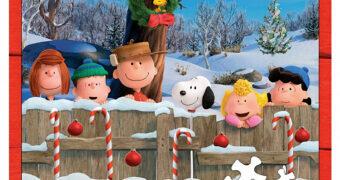 Quebra-Cabeça Peanuts Together Time com Peças de Três Tamanhos Diferentes