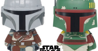 Cofres Monogram Star Wars: Boba Fett e Mando (The Mandalorian)