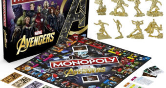 Jogo Monopoly Vingadores: Ultimato