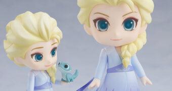 Boneca Nendoroid Rainha Elsa em Frozen 2 – O Reino do Gelo