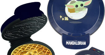 Máquina de Waffles Baby Yoda Star Wars: The Mandalorian