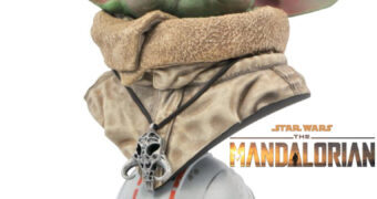 Busto Baby Yoda Legends in 3D em Escala 1:2 (Star Wars: The Mandalorian)